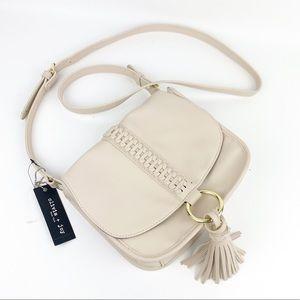 Olivia + Joy Tassel Crossbody Flap Handbag NWT